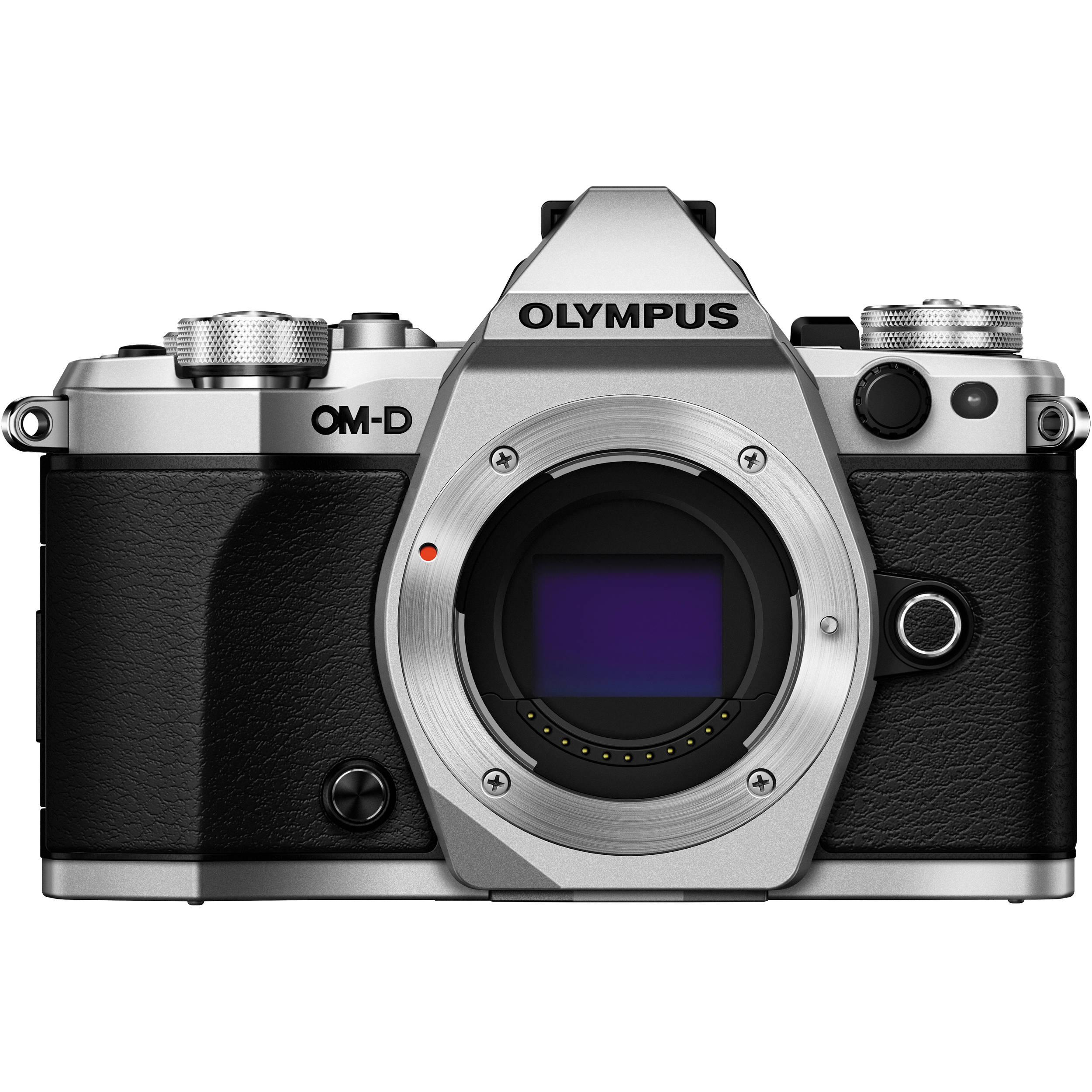 Olympus Om D E M5 Mark Ii Srebrny 12 50 F35 63 Ez Mzuiko Digital Ed 50mm Lens